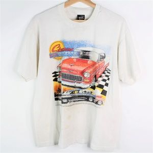 Vintage Fruit of the Loom Chevy Classic Cars Large